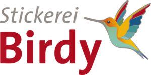 Stickerei Birdy
